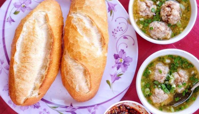 Bánh mì xíu mại
