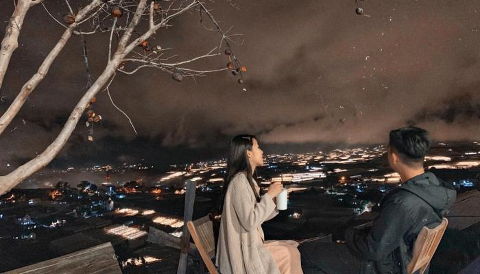 view nhìn Đà Lạt trên cao