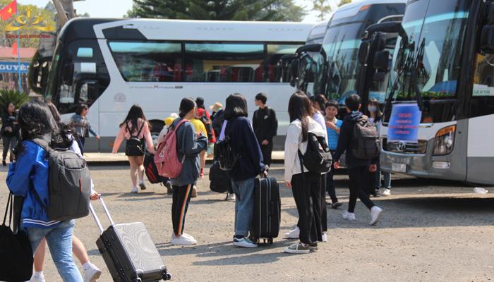 Học sinh trường THPT Bùi Thị Xuân