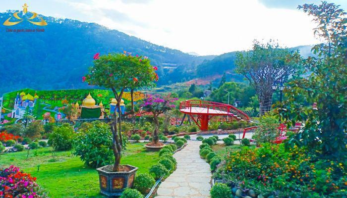 Một góc Vườn Thượng Uyển