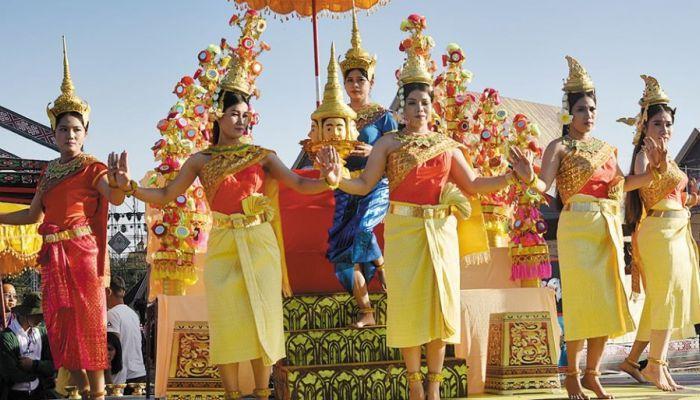 Tái hiện Lễ hội mừng năm mới của dân tộc Khmer tỉnh Cà Mau