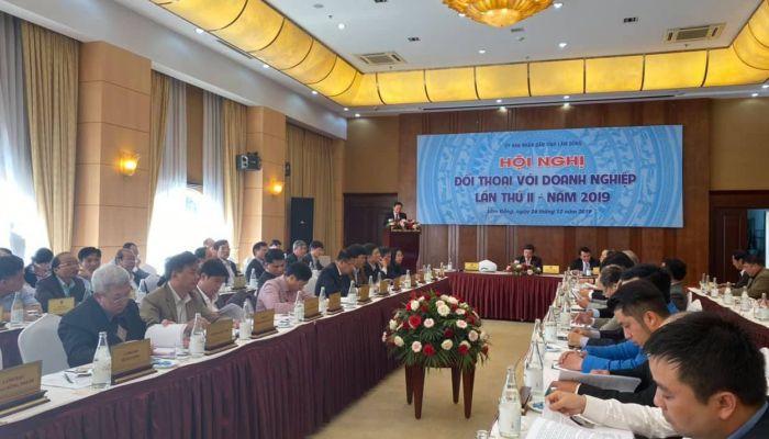 Hội nghị đối thoại doanh nghiệp