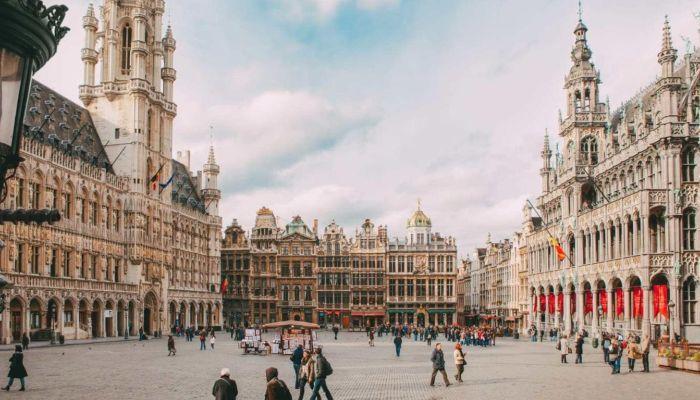 Trung tâm phố cổ Brussels