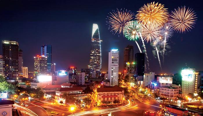Địa điểm bắn pháo hoa tại thành phố Hồ Chí Minh