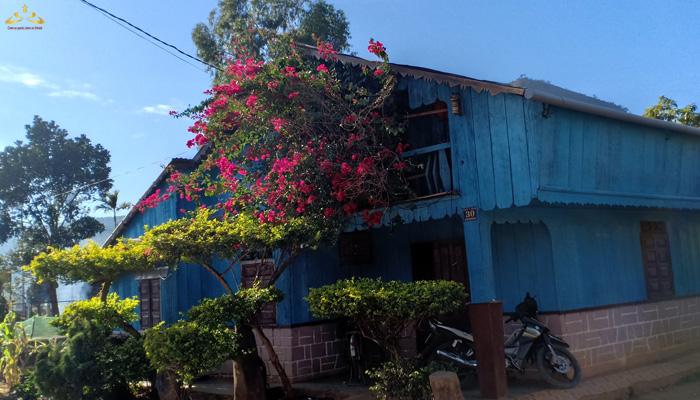 Nhà xanh bên cạnh chú gà trống 9 cựa
