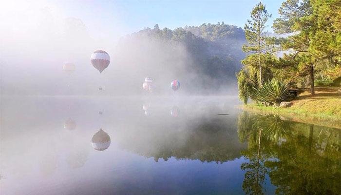 Một ánh sương vào buổi sáng sớm
