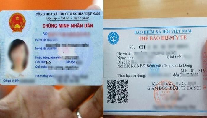 Thẻ y tế đổi bằng thẻ y tế điện tử