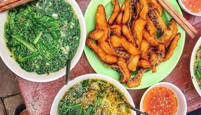 Bún cá chấm – Bún cá Hạnh Béo – Số 30 Nguyễn Thái Học, Đống Đa