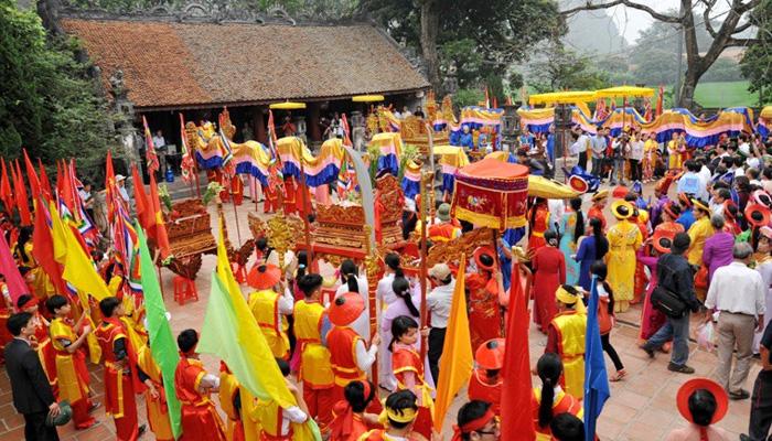 Lễ hội truyền thống ở Cố Đô Hoa Lư Ninh Bình