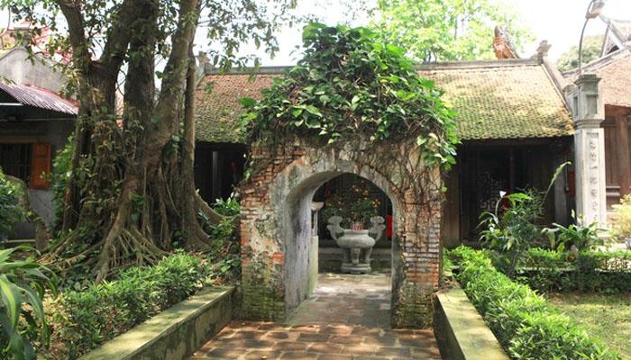 Am Mị Nương nằm trong chùa Cổ Loa ở Hà Nội