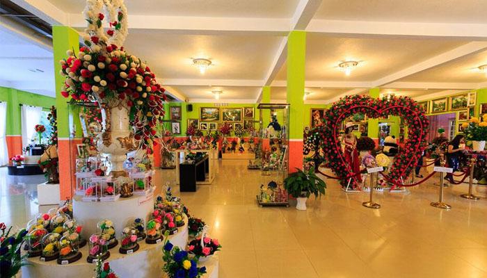 rừng hoa Đà Lạt được thành lập ngày 10 tháng 10 năm 2003