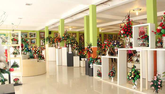Showroom hoa khô lớn nhất Việt Nam