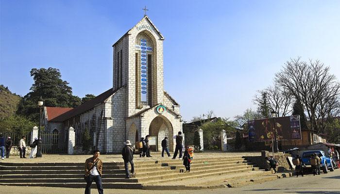 Trung tâm thị trấn Sapa