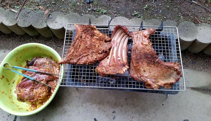 Thịt nai nướng