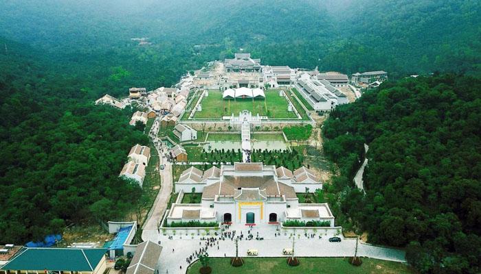 Vùng núi Yên Tử