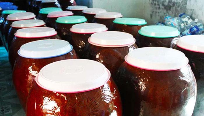 Cơ sở ủ Rượu Vang Sim