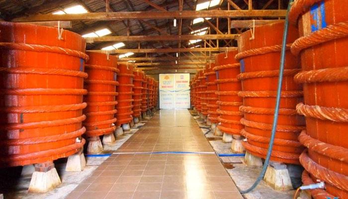 Cơ sở nước mắm Phú Quốc