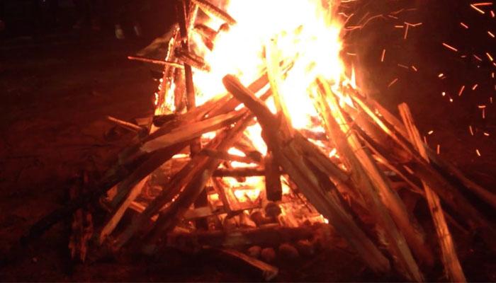 Game cắm trại rút gỗ