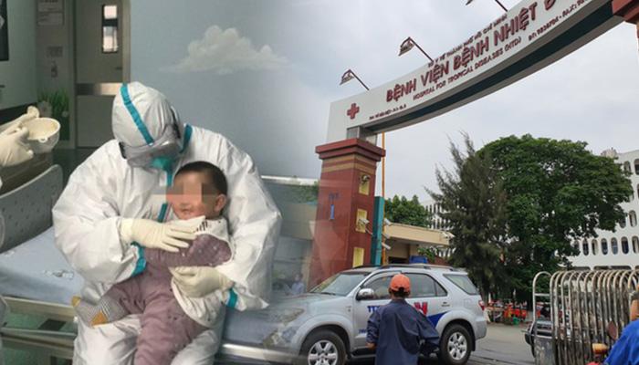 Trường hợp bé nhỏ 3 tháng tuổi đang điều trị tại bệnh viện Nhi Trung ương đã có kết quả xét nghiệm âm tính