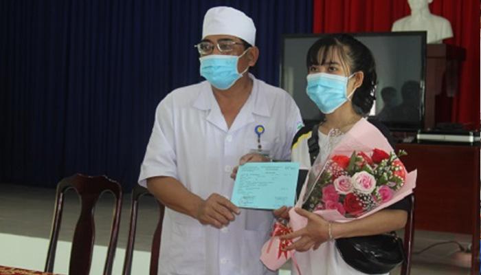Bệnh nhân H đã hết bệnh và xuất viện