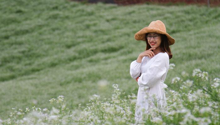 Nên đến Kimi Farm để chụp hoa cải trắng vào thời gian nào