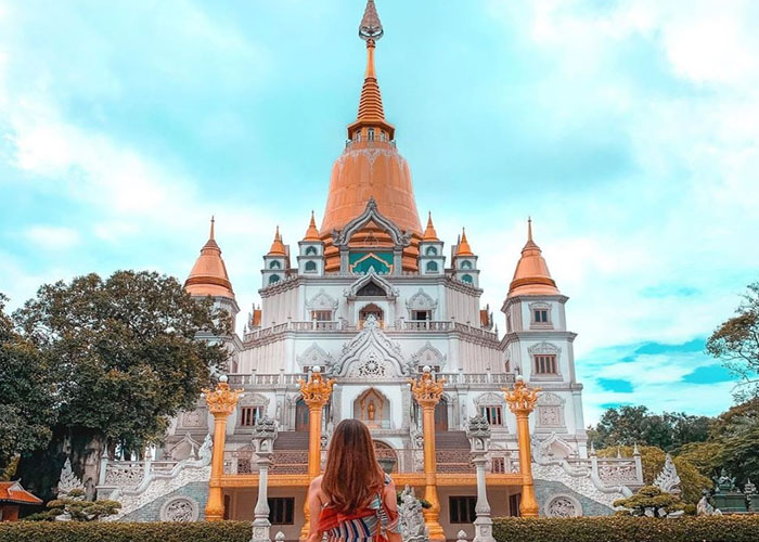 Đây là bảo tháp lớn nhất Việt Nam