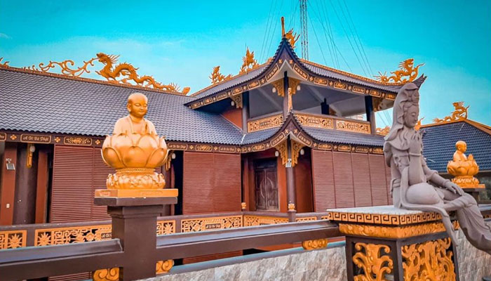 Một góc ảnh ở chùa Kim Tiên
