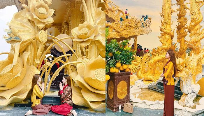 Góc sống ảo nơi ở chùa