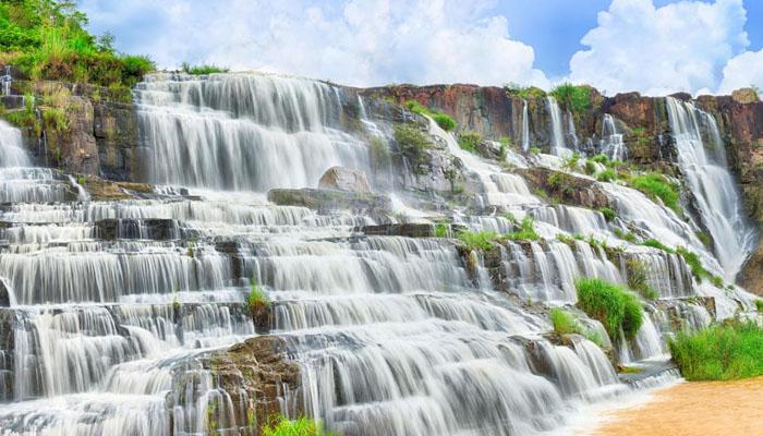 Thác pongour- một trong những thác nước đẹp nhất ở tỉnh Lâm Đồng