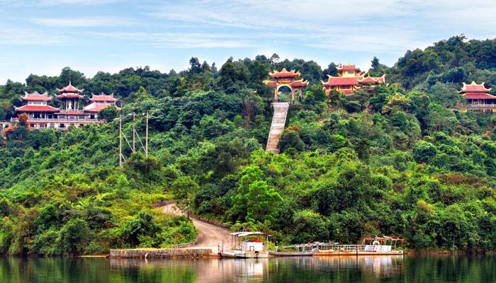 Thiền Viện Trúc Lâm Đà Lạt- Tour du lịch Đà Lạt