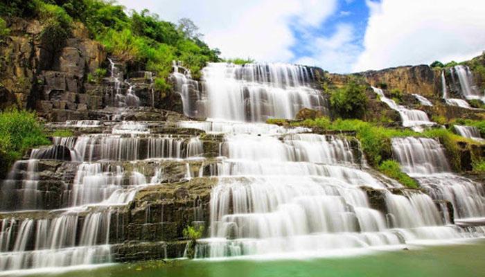 Vẻ đẹp của thác pongour
