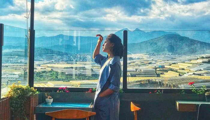 Coffee Panorama ngắm tiên cảnh tại Đà Lạt