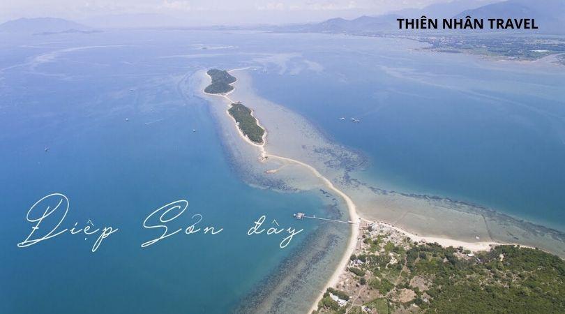 Địa điểm du lịch - Đảo điệp Sơn con đường cát giữa biển
