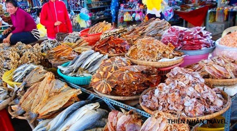 Du Lịch Nha Trang 2020- Đừng quên mua hải sản khô Nha Trang làm quà nhé