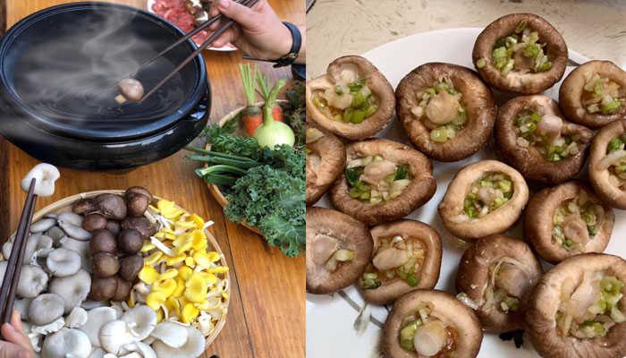 Bạn sẽ được thướng thức các món ăn từ nấm