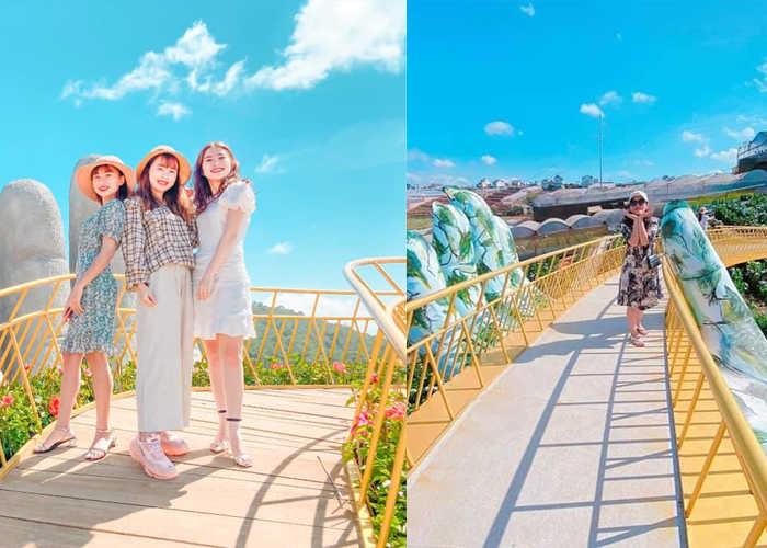 Du lịch Đà Lạt: Check-in 2 cây cầu vàng hệt như Đà Nẵng - 123tadi ...