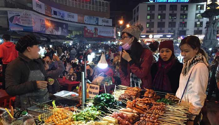 Lưu ý ở chợ đêm Đà Lạt