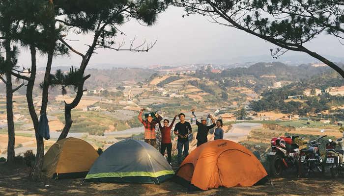 Đồi Thiên Phúc Đức là một địa điểm lý thú để cắm trại