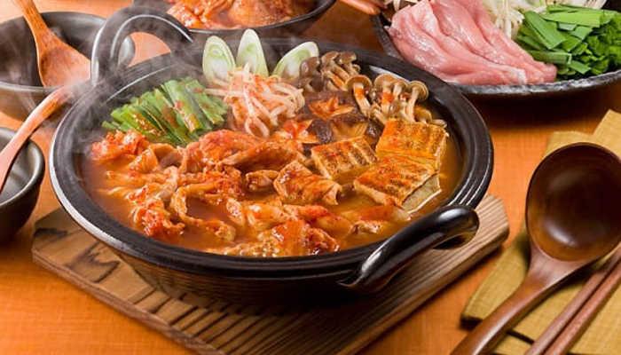 Lẩu Ghẹ Kim Chi - ẩm thực Đà Lạt