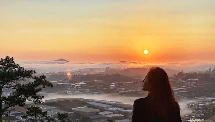 Săn mây đồi Đa Phú Đà Lạt