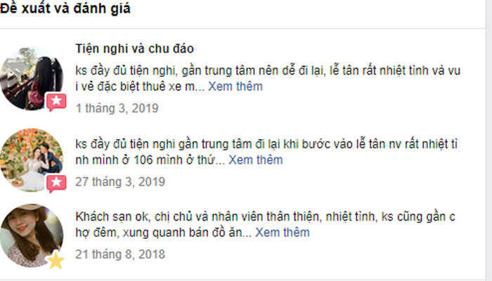review về khách sạn Đà Lạt