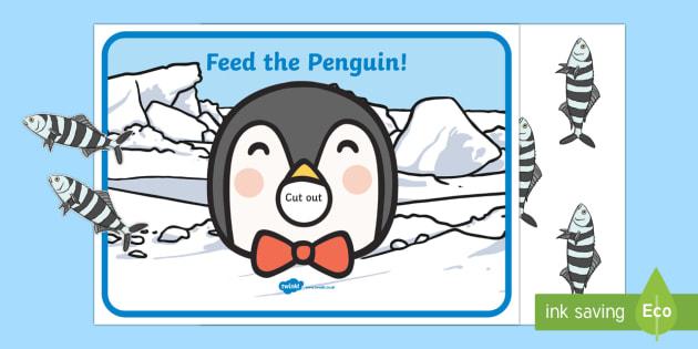 Feed the Penguin trò game trí tuệ cho bé siêu hài hước