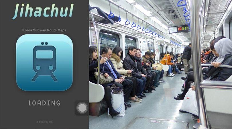 Du lịch Hàn Quốc - Ứng dụng tàu điện ngầm
